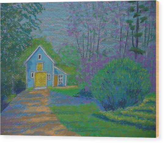 Amberrose Barn Wood Print