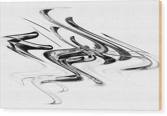 Ambiguity IIi Wood Print