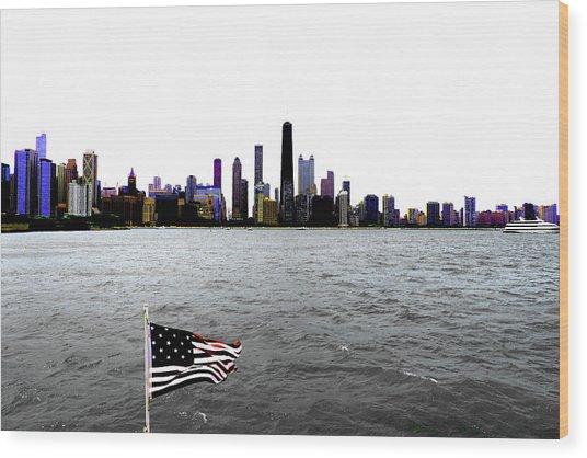 American Chi 3 Wood Print