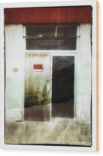American Decay - Sears And Roebuck  Wood Print by Steven Digman