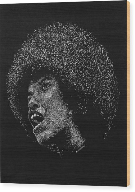 American Diversity Wood Print by Michael Wicksted
