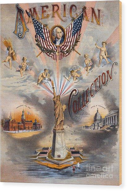 American Wood Print