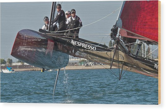 America's Cup World Series Wood Print
