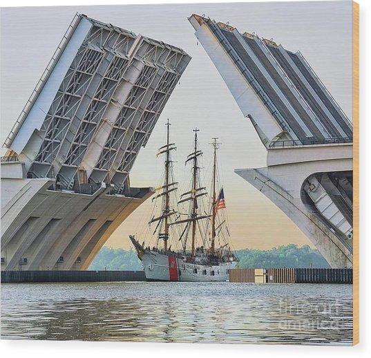 America's Tall Ship Wood Print