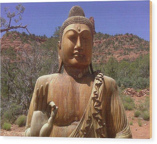 Amitabha Wood Print