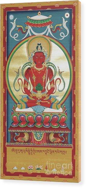 Amitayus Wood Print
