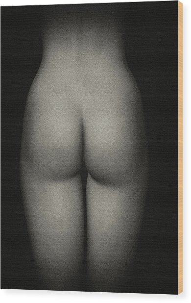 Amy Backside Wood Print