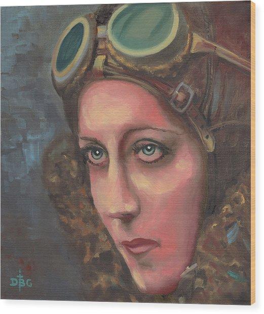 Amy Johnson Wood Print