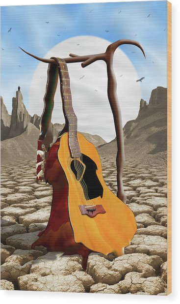 An Acoustic Nightmare Wood Print