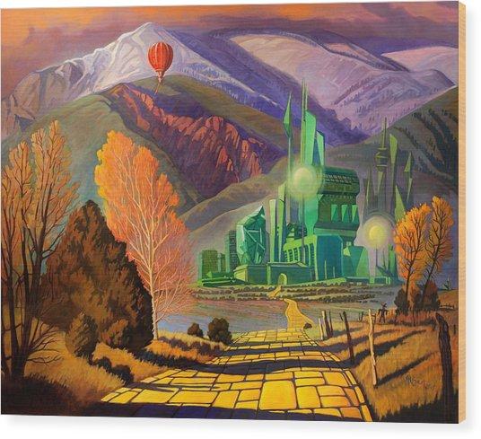Oz, An American Fairy Tale Wood Print