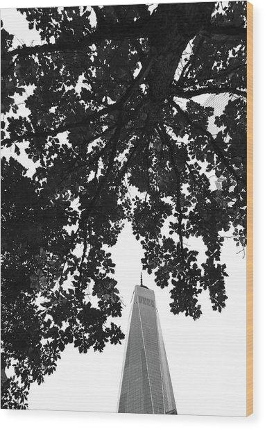 An Architect's Poem Wood Print