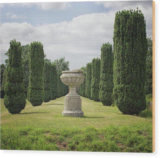 An English Country Garden Wood Print