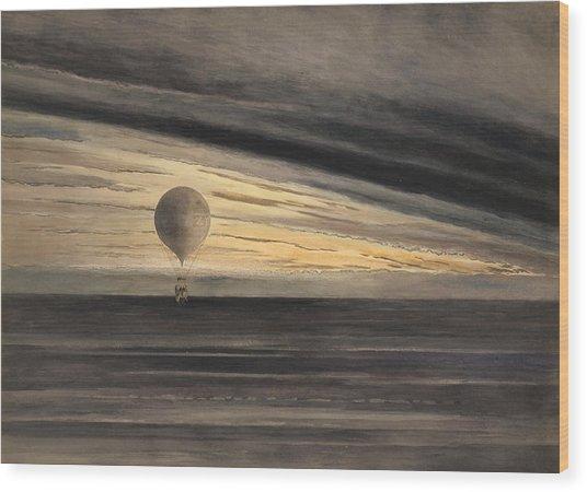 An Evening Over Paris Wood Print