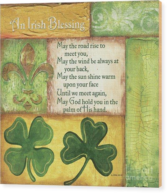 An Irish Blessing Wood Print