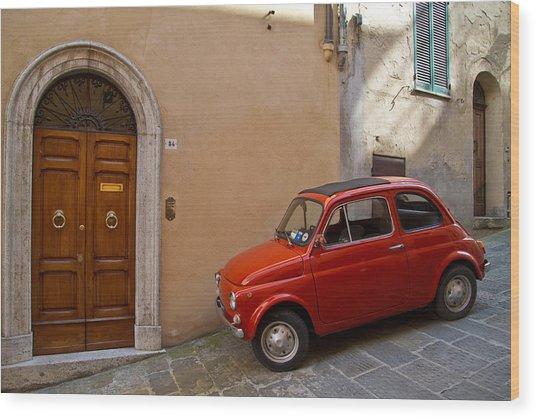 An Italian Classic Wood Print