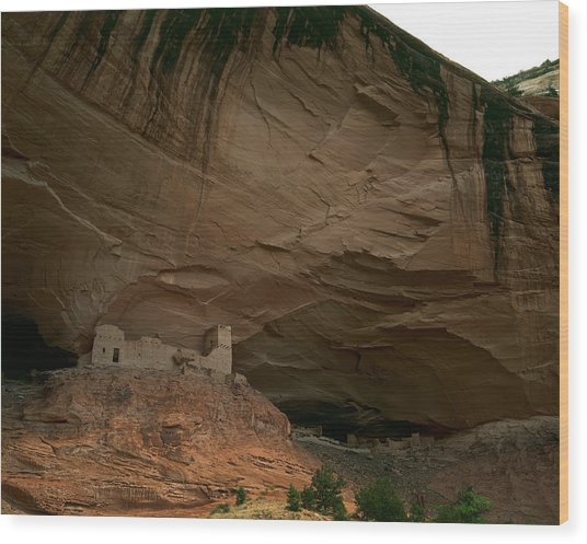 Anasazi Indian Ruin Wood Print