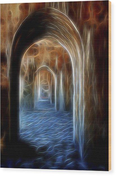 Ancient Doorway 5 Wood Print