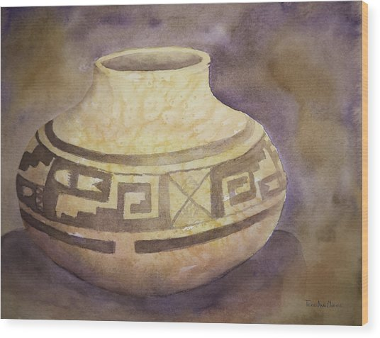 Ancient Pottery Wood Print