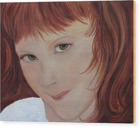 Andee Wood Print by Aimee Vance