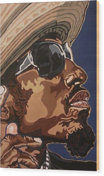 Andre 3000 Wood Print