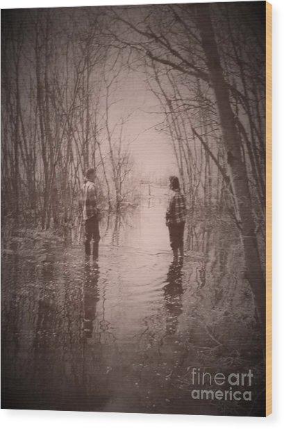 Andrew And Sarah Wood Print