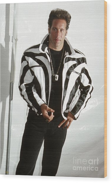 Andrew Dice Clay 1989 Wood Print