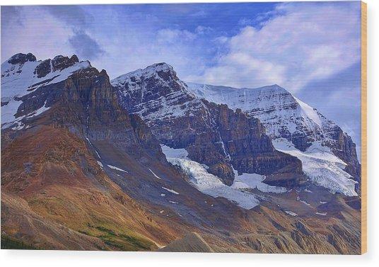 Mount Andromeda Wood Print