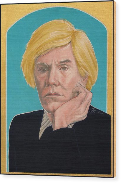 Andy Warhol Wood Print