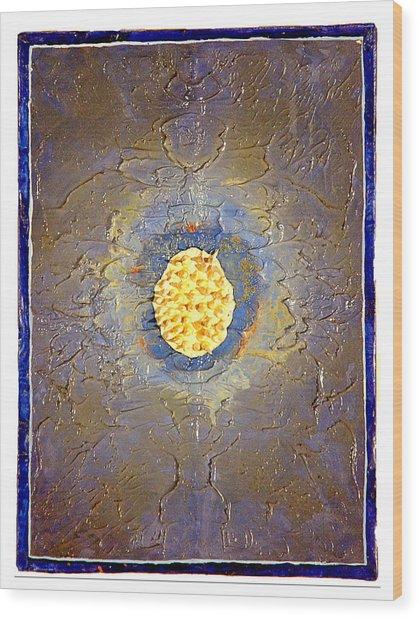 Anemone Wood Print by Howard Goldberg