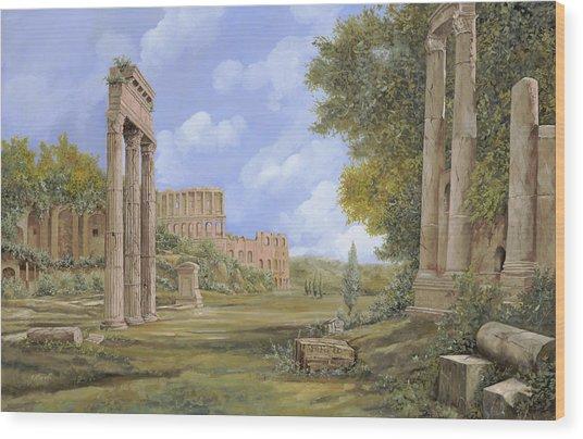Anfiteatro Romano Wood Print