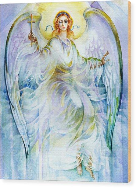 Angel Of Love Wood Print