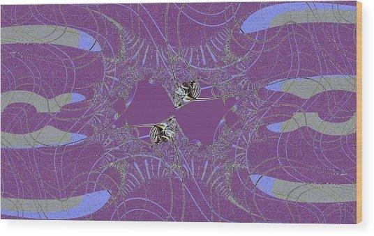 Angelfish Wood Print by Thomas Smith