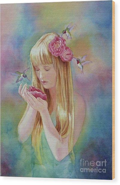 Angel's Nectar Wood Print