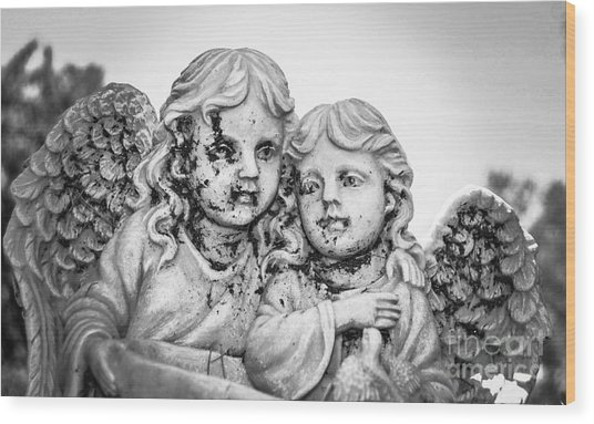 Angels With Dirty Faces Wood Print