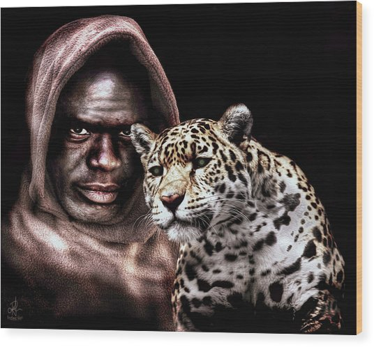 Animal Totem Wood Print