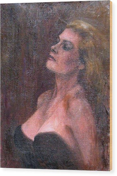 Anita Wood Print by Elisabeth Nussy Denzler von Botha