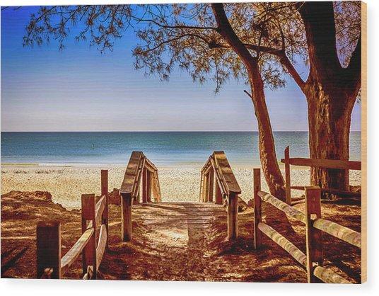 Anna Maria Island Beach Fl Wood Print