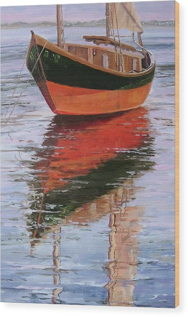 Anna's Tide Come In Wood Print