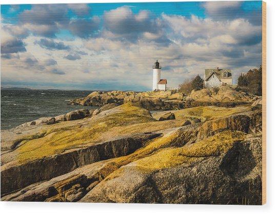 Annisquam Harbor Light Wood Print