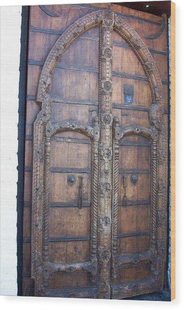 Another Door Wood Print by James Johnstone
