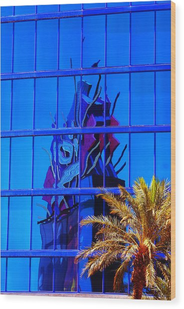 Another Rio Reflection Wood Print by Richard Henne
