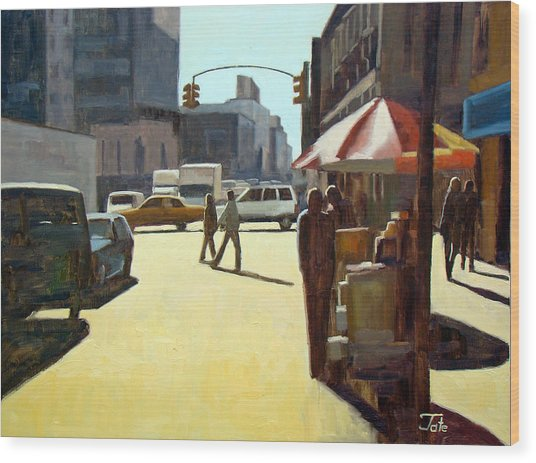 Another Summer In Manhattan Wood Print