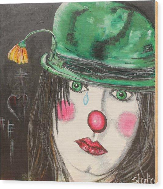 Ansichten Eines Clowns Wood Print
