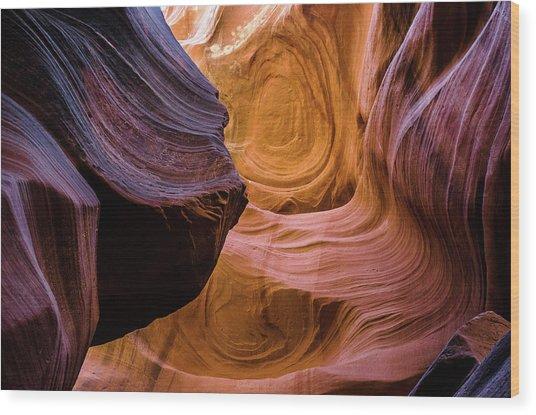Antelope Canyon 12 Wood Print