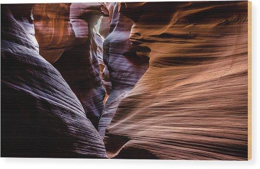 Antelope Canyon 8 Wood Print