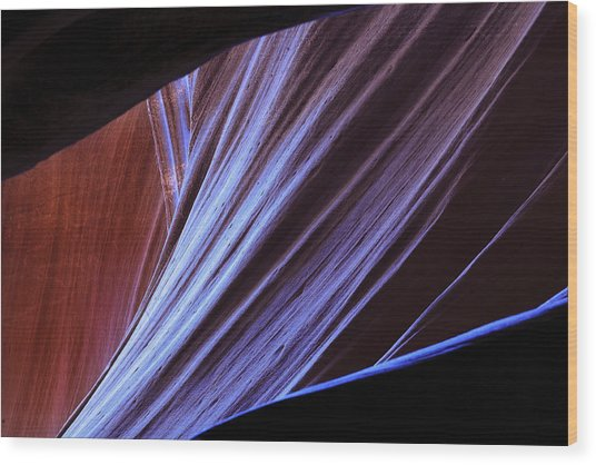 Antelope Canyon I Wood Print