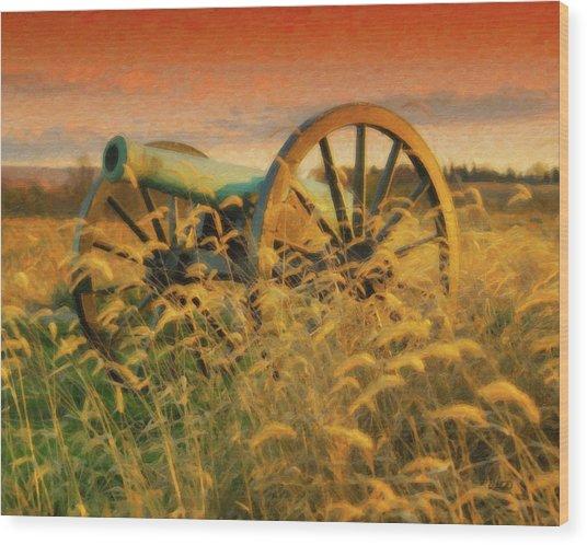 Antietam Battlefield - Dwp140321 Wood Print