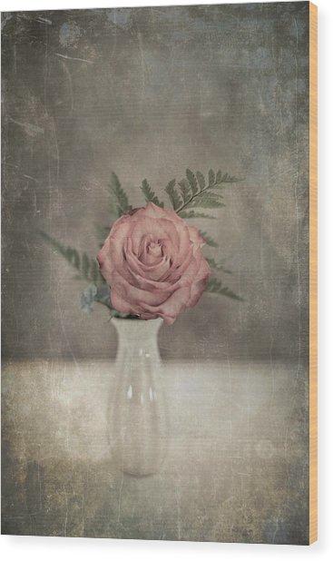 Antiquated Romance Wood Print