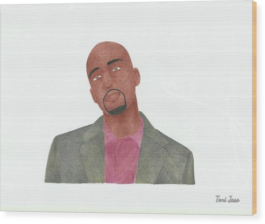 Antwon Tanner Wood Print