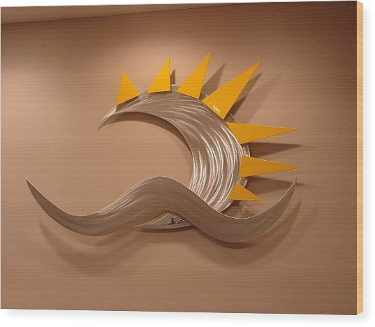 Anu Wood Print by Mac Worthington